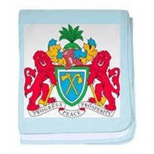 Gambia Coat Of Arms baby blanket