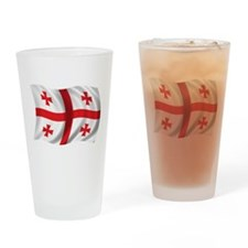 Wavy Georgia Flag Pint Glass
