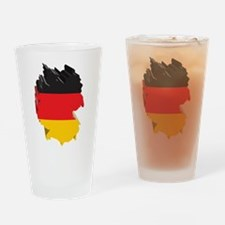 3D Map Of Germany Pint Glass