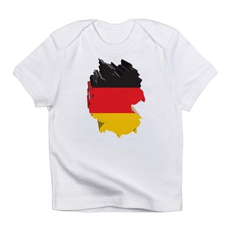 3D Map Of Germany Infant T-Shirt