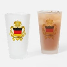 Gold Deutschland Pint Glass