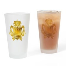 Gold Germany Pint Glass