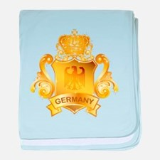 Gold Germany baby blanket
