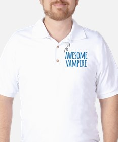 Awesome vampire Golf Shirt