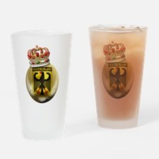 Germany King Of Football Pint Glass