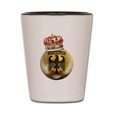 Germany King Of Football Shot Glass