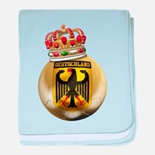 Germany King Of Football baby blanket