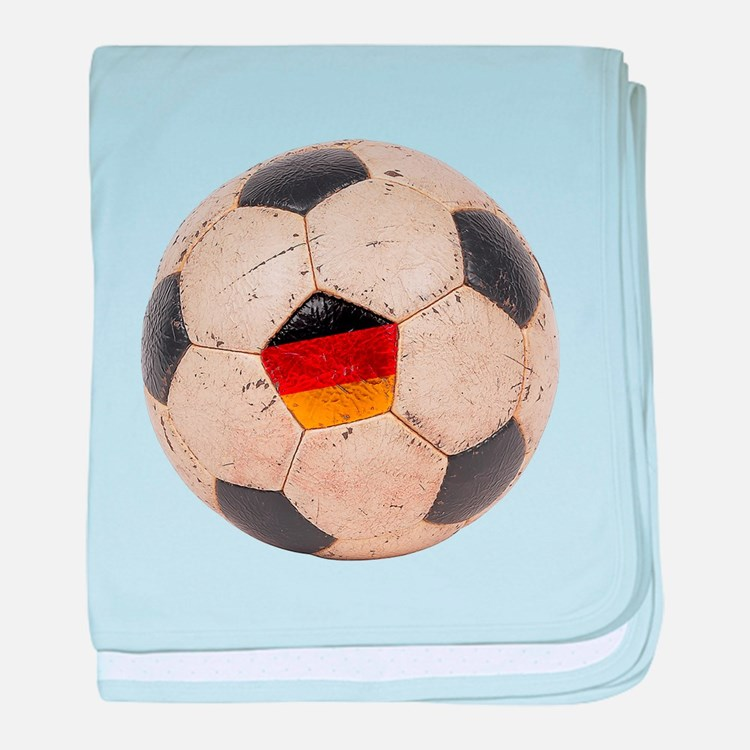 Germany Football baby blanket