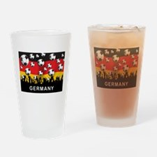 Germany Football Pint Glass