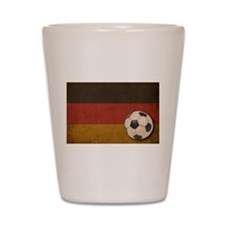 Vintage Germany Football Shot Glass