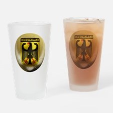 Deutschland Football Pint Glass