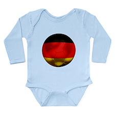 Germany Football Long Sleeve Infant Bodysuit