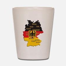 Germany Map Shot Glass