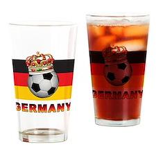 Germany Football Pint Glass