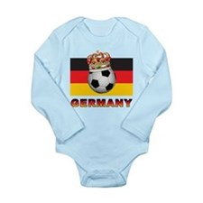 Germany Football Long Sleeve Infant Bodysuit