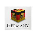 Cube Germany Throw Blanket