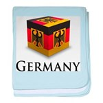 Cube Germany baby blanket