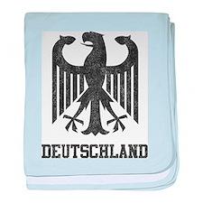Vintage Deutschland baby blanket
