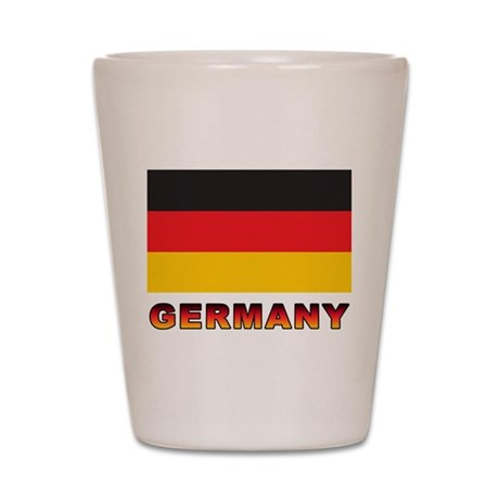 Germany Shot Glass