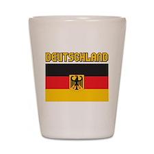 Deutschland Shot Glass