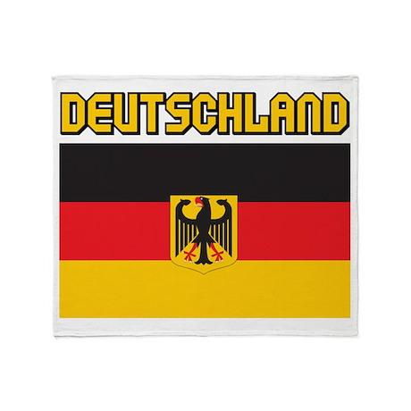Deutschland Throw Blanket
