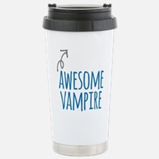 Awesome vampire Travel Mug