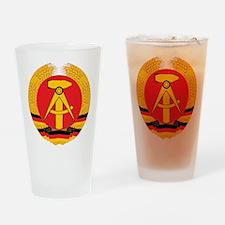 East Germany Pint Glass