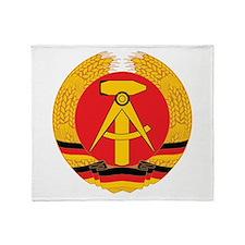 East Germany Throw Blanket