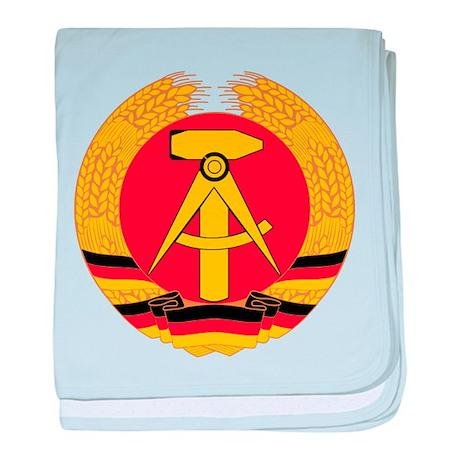 East Germany baby blanket
