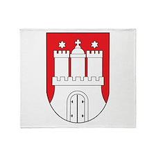 Hamburg Coat Of Arms Throw Blanket