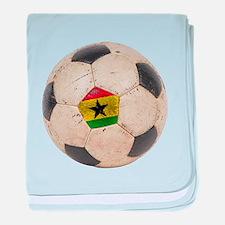 Ghana Football baby blanket