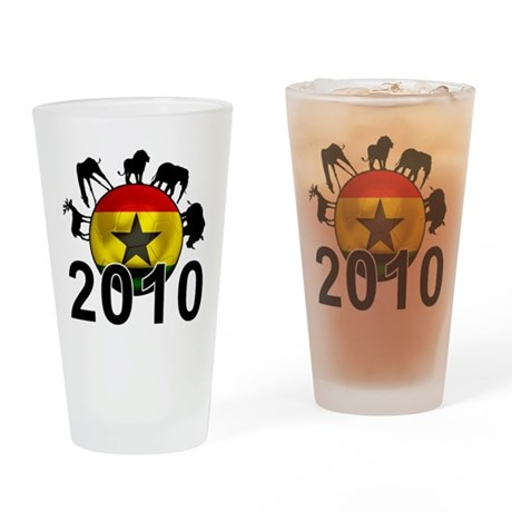 Ghana World Cup 2010 Pint Glass