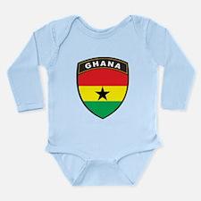 Ghana Long Sleeve Infant Bodysuit