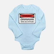 Attitude Ghanaian Long Sleeve Infant Bodysuit