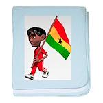 3D Ghana baby blanket