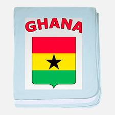 Ghana baby blanket