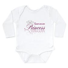 Guamanian Princess Long Sleeve Infant Bodysuit