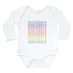 Guatemala Long Sleeve Infant Bodysuit