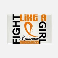 Licensed Fight Like a Girl 3.3 Le Rectangle Magnet