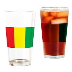 Guinea Flag Pint Glass