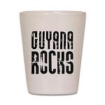 Guyana Rocks Shot Glass