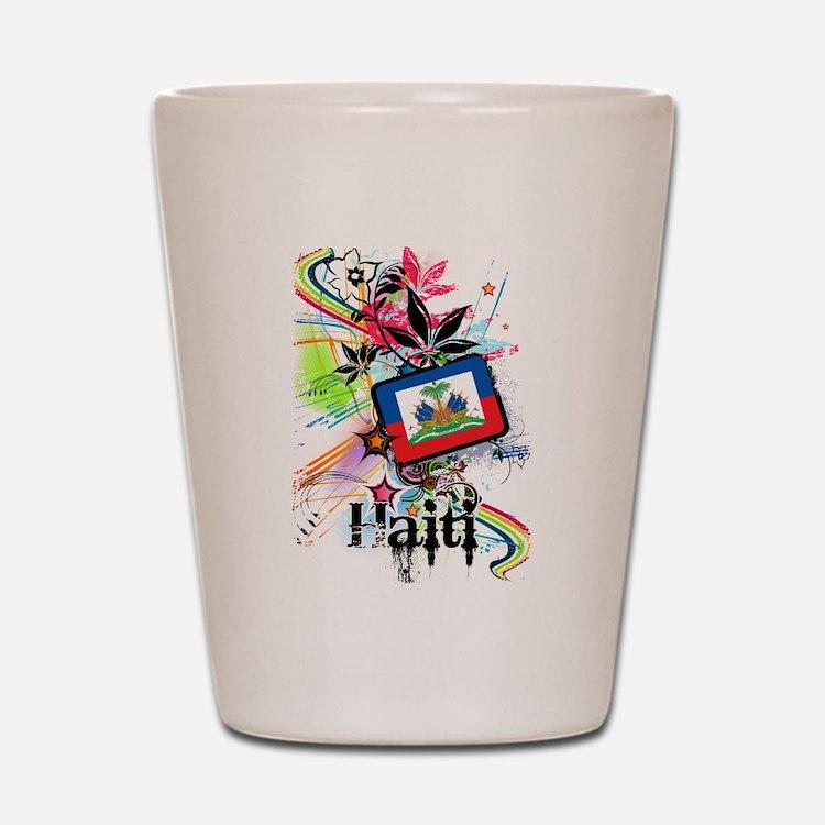 Haiti Shot Glass