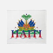 3D Haiti Throw Blanket