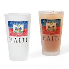Vintage Haiti Pint Glass