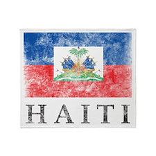 Vintage Haiti Throw Blanket