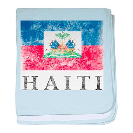 Vintage Haiti baby blanket