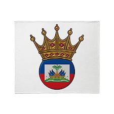 King Of Haiti Throw Blanket