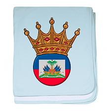 King Of Haiti baby blanket