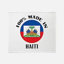Made In Haiti Throw Blanket
