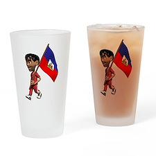 3D Haiti Pint Glass
